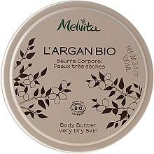 Parfumuri și produse cosmetice Ulei solid de corp - Melvita L'Argan Bio Body Butter Very Dry Skin