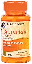 "Parfumuri și produse cosmetice Supliment alimentar ""Bromelain"" - Holland & Barrett Bromelain 500mg"