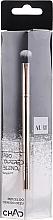 Parfumuri și produse cosmetice Pensulă pentru fard de pleoape, 206 - Auri Chad Pro Tapered Blend Brush