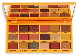 Parfumuri și produse cosmetice Paletă farduri de ochi, 18 nuanțe - I Heart Revolution Tasty Palette
