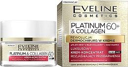 Parfumuri și produse cosmetice Cremă de față 60+ - Eveline Cosmetics Platinum & Collagen