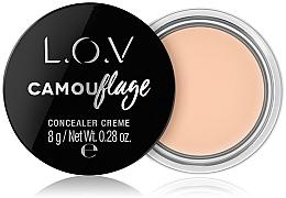 Parfumuri și produse cosmetice Кремовый консилер для лица - L.O.V Camouflage Concealer Creme