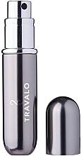 Parfumuri și produse cosmetice Atomizor - Travalo Classic HD Easy Fill Perfume Spray Titanium