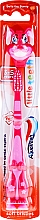 Parfumuri și produse cosmetice Детская зубная щетка, 3-5 лет, Bella the Bunny - Aquafresh Little Teeth Soft