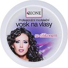 Parfumuri și produse cosmetice Ceară de păr - Bione Cosmetics Professional Hair Wax Silicone