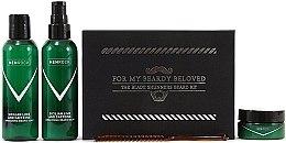 Parfumuri și produse cosmetice Set - Men Rock Awakening Beardy Beloved Care Kit (soap/100ml + balm/100ml + wax/25ml + comb/1pcs)