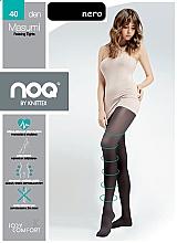 "Parfumuri și produse cosmetice Colanți anti -varice pentru femei ""Masumi"" 40 Den, nero - Knittex"