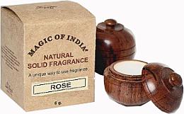 "Parfumuri și produse cosmetice Cremă-parfum naturală ""Rose"" - Shamasa"