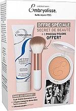Parfumuri și produse cosmetice Set - Embryolisse Set Beauty Secret (cr/75ml + powder/12g + brush)