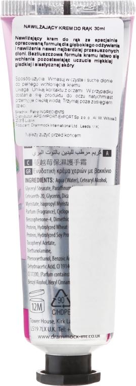 """Увлажняющий крем для рук """"Клюква"""" - Beauty Formulas Cranberry Moisturising Hand Cream — фото N2"""