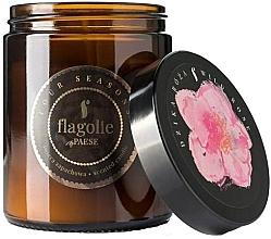 "Parfumuri și produse cosmetice Lumânare parfumată, în borcan ""Trandafir sălbatic"" - Flagolie Fragranced Candle Wild Rose"