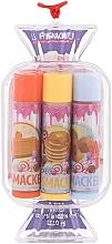 Parfumuri și produse cosmetice Set balsam de buze - Lip Smacker Candy Purple (balm/3x4g)