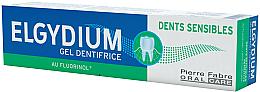Parfumuri și produse cosmetice Pastă-gel de dinți - Elgydium Sensitive Teeth Toothpaste Gel