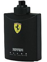 Parfumuri și produse cosmetice Ferrari Black - Apă de toaletă (tester fără capac)
