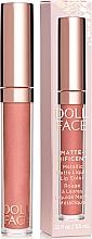 Parfumuri și produse cosmetice Ruj mat de buze - Doll Face Matte Metallic Liquid Lip Color