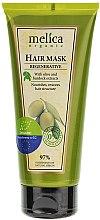 Parfumuri și produse cosmetice Mască regenerantă cu brusture și extract de măsline pentru păr - Melica Organic Regenerative Hair Mask