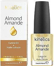 """Parfumuri și produse cosmetice Ulei pentru unghii și cuticule """"Almond"""" - Kinetics Almond Cuticle Oil"""