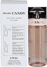 Prada Prada Candy L'Eau - Apă de toaletă (tester fără capac) — Imagine N4