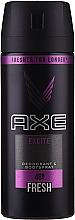 "Parfumuri și produse cosmetice Antiperspirant Aerosol Spray ""Excite"" pentru bărbați - Axe Deodorant Bodyspray Dry Excite"