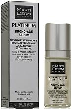 Parfumuri și produse cosmetice Ser facial de noapte - MartiDerm Platinum Krono-Age Serum