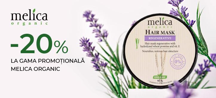 Promoție de la Melica Organic