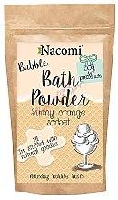 """Parfumuri și produse cosmetice Pudră pentru baie """"Sorbet portocaliu"""" - Nacomi Bath Powder"""