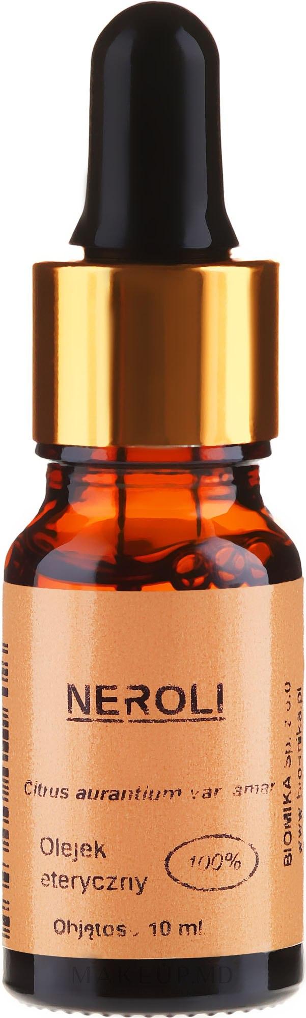 "Ulei esențial ""Neroli"" - Biomika Neroli Oil — Imagine 10 ml"