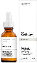 Parfumuri și produse cosmetice Ser Retinol 1% în Squalane - The Ordinary Retinol 1% in Squalane