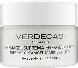 "Parfumuri și produse cosmetice Cremă-gel premium ""Energie marină"" - Verdeoasi Supreme Creamgel Marine Energy"