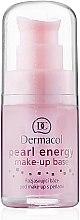 Parfumuri și produse cosmetice Bază de machiaj cu extract de perle - Dermacol Make-Up Base Pearl Energy (pompă)