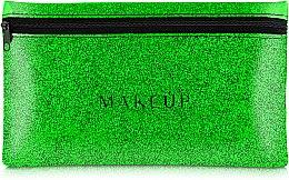 """Parfumuri și produse cosmetice Trusă cosmetică """"Glitter Pouch"""", 22x13 cm, verde - MakeUp"""