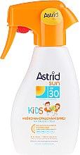 Parfumuri și produse cosmetice Lapte hidratant protecție solară pentru copii - Astrid Sun Kids Milk Spray SPF 30