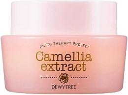 Parfumuri și produse cosmetice Cremă cu unt de shea și ulei de semințe de macadamia pentru față - Dewytree Phyto Therapy Camellia Extract Cream
