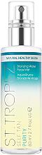 Parfumuri și produse cosmetice Spray hidratant pentru față, cu efect de bronzare - St. Tropez Self Tan Purity Bronzing Water Face Mist