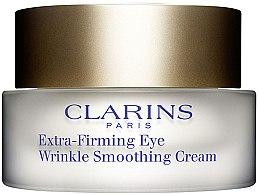 Parfumuri și produse cosmetice Balsam anti-îmbătrânire pentru pielea din jurul ochilor - Clarins Extra Firming Eye Wrinkle Smooting Cream