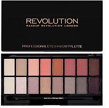 Parfumuri și produse cosmetice Палетка теней для век, 16 цветов - Makeup Revolution Profesional Eyeshadow Palette