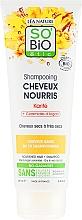 Parfumuri și produse cosmetice Șampon de păr - So'Bio Etic Nourishing Shampoo with Argan Ceramide & Shea Butter