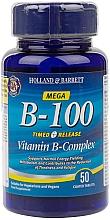 "Parfumuri și produse cosmetice Supliment alimentar ""Complex Mega-Vitamina B cu eliberare susținută"" - Holland & Barrett Timed Release Mega Vitamin B Complex 100mg"
