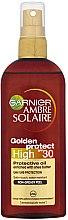 Parfumuri și produse cosmetice Ulei-Spray - Garnier Ambre Solaire Golden Protect SPF30 Oil
