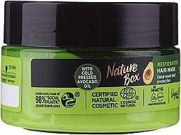 Parfumuri și produse cosmetice Mască de păr - Nature Box Avocado Oil Maska