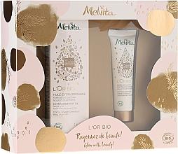 Parfumuri și produse cosmetice Set - Melvita L'Or Bio (oil/50ml + h/cr/30ml)