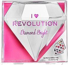 Parfumuri și produse cosmetice Paletă farduri de ochi, 20 nuanțe - I Heart Revolution Diamond Bright Palette