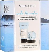 Parfumuri și produse cosmetice Set - Miraculum Woda Termalna (scrub/150ml + cr/mask/50ml)