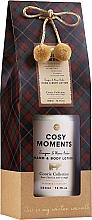 Parfumuri și produse cosmetice Loțiune cu aromă de ienupăr și chihlimbar pentru corp - Accentra Cozy Moments Body Lotion