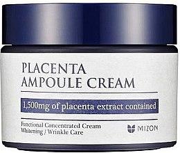Parfumuri și produse cosmetice Cremă placentară anti-îmbătrânire pentru față - Mizon Placenta Ampoule Cream