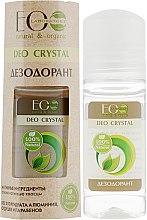 """Parfumuri și produse cosmetice Deodorant de corp """"Natural"""" - ECO Laboratorie Deo Crystal"""