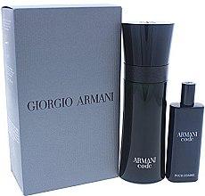 Parfumuri și produse cosmetice Giorgio Armani Armani Code - Set (edt/75ml + edt/15ml)