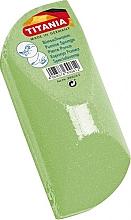 Parfumuri și produse cosmetice Piatră ponce, verde - Titania