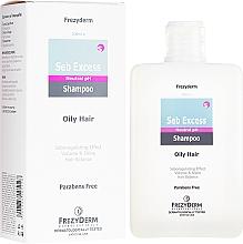 Parfumuri și produse cosmetice Șampon seboreglator pentru păr gras - Frezyderm Seb Excess Shampoo