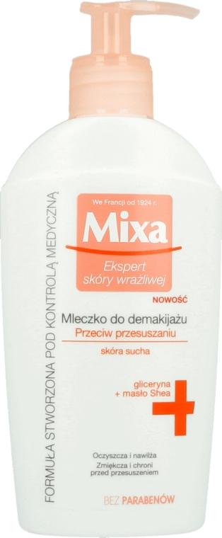 Lăptișor demachiant pentru pielea uscată - Mixa Cleansing Milk Anti-Dryness For Dry Skin — Imagine N1